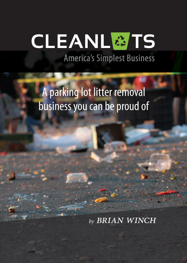 Cleanlots Operators Manual- Title Page