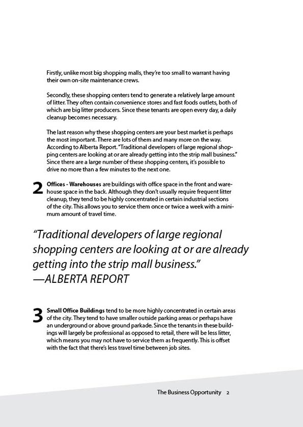 Cleanlots Operators Manual - Chapter 1 p.2