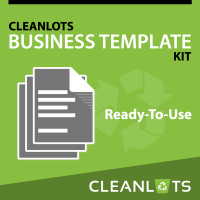 CLEANLOTS Business Template Kit