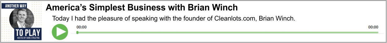 America's Simplest Business with Brian Winch